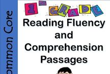 1st Grade Reading Fluency and Comprehension Passages BUNDLE / 1st Grade Reading Fluency and Comprehension Passages Bundle. ***SAVE with a BUNDLE! Common Core Aligned ! An entire year's worth of reading comprehension and fluency passages! This Reading Fluency and Comprehension Passages resource includes 159 passages.