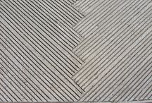 Sidewalk material and patterns