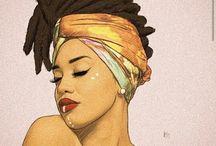 Black Beauty and fashion art