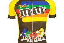 2016 Cycling & Running Apparel Designs / Check out our new designs for 2016!  More Sesame Street, M & M's and Star Trek designs plus Flash (ah ah) Gordon!