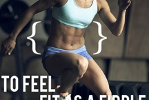 Fitness and Inspiration  / by Lizzy Connolly