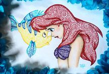 Zentangle Disney