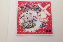 Hollandkaarten gemaakt door Ella vanGils