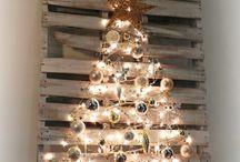 pallet xmas tree / my palet Xmas treecraft