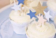 *1st Birthday Boy Twinkle Star Blue*