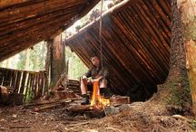Survival, Bushcraft, Shelters, Traps