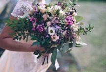 Soft and Wild Purples / Wedding Flowers