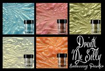 Embossing Powder / Two-toned embossing powder.  Vibrant embossing powders with a unique secondary shimmer as you move your projects.  Gives your creation amazing movement! / by Lindy's Stamp Gang
