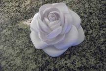 flores tecido ou bouquets