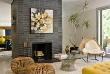 fireplaces / by Heather Peterson