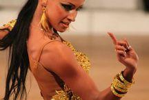 Dance Hair style Latin