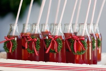 Dressy Drinks / Fun and chic ways to present drinks to your guests!