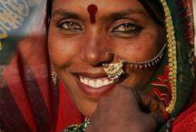 woman, faces