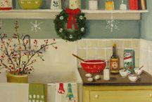 Estampas Navideñas y de Año Nuevo