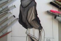 fashion эскизы