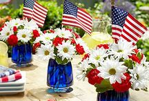 Fourth of July Decorations / All the decorating tips you'll need to blow your guests away with patriotism this 4th of July.