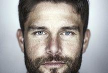 Man beards w hair styles