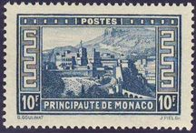 Stamps, Monaco