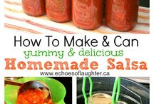 Homemade Canned Goods