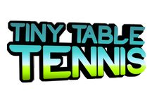 Tiny Table Tennis / Now fast paced Table Tennis action comes to your wearable device. Perform smashing serves and shots to take out your opponents in this teensy sports simulation.  https://play.google.com/store/apps/details?id=com.teensystudios.tinytabletennis