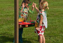 Kids garden / Adventure playground garden