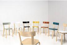 Alvar Aalto dining chairs