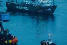 Greenpeace Artic Sunrise