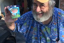 Customers and their Ice Cream / Photos of our 1-800-Junk -Refund customers with their free pint of Ben & Jerry's ice cream we gave them when we did their job.  They get to pick their own flavor too!