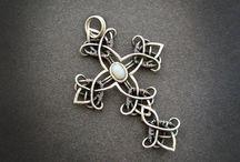 Wire Wrap Crosses