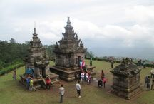Gedong Songo Temple, Central Java, Indonesia / 1 January 2014