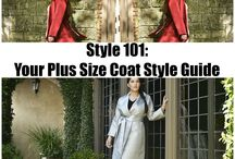 Plus Size Coats and Outerwear / by The Curvy Fashionista