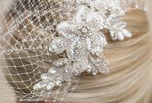 Wedding hair and headwear