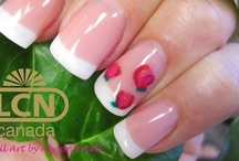 LCN Gel French Nails