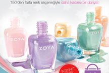 www.zoyaturkiye.com / Karşı konulmaz renkler ve daha kadınsı bir dünya!  www.zoyaturkiye.com yayında!