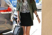 Skirt mini and jacket/blazer