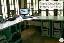 Office ideas!! / by Brenda Mehling