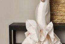 Structured simple brautkleid