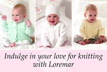 Baby Knitting / Indulge in your love for baby knitting with Loremar's selection of  supersoft baby yarns and the latest pattern designs from your favourite brands