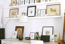 Interiors:: Office / Inspiration for a chic a stylish home office / by Glamour in the County