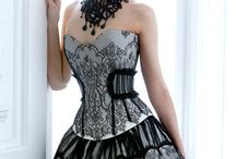 corset gown