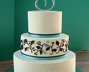 Wedding cakes + cupcakes