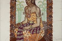Indonesia vintage art