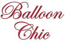 BALLOON CHIC / http://www.balloonchic.eu/
