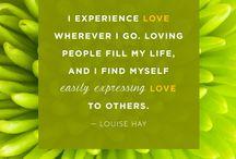 Loving & positive affirmations