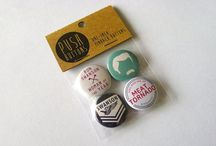 ACCESSORIES • PINS / Fun pins and buttons for any outfit!