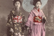 Japanese Clothes / Kimono patterns and clothing types to be used in my Japanese style paintings / by Felix d'Eon