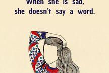 Sad.. / THE FEELING THAT NOBODY NEEDS..