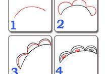 Illustration tutorials & ideas