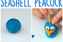 Seashell staff