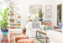 Boho style houserooms